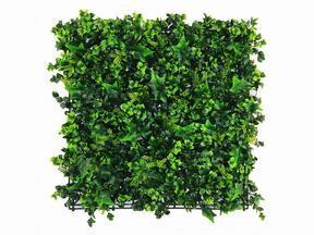 Konstgjord bladpanel Ivy - 50x50 cm