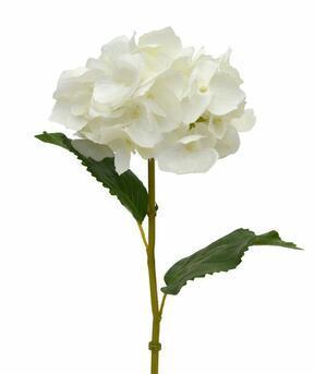Artificiell gren Hydrangea grädde 45 cm