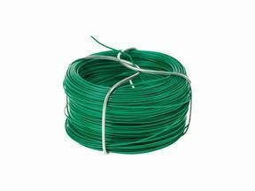 Bindningstråd för konstgjord häck, mjukgjord grön 1,2 mm - spole 25 m