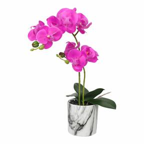 Cyklamen konstgjord orkidé 49 cm
