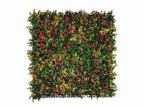 Konstgjord blomsterpanel Leucadendron - 50x50 cm