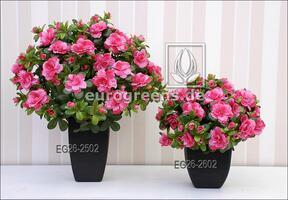 Konstgjord bukett belgisk Azalea rosa 40 cm