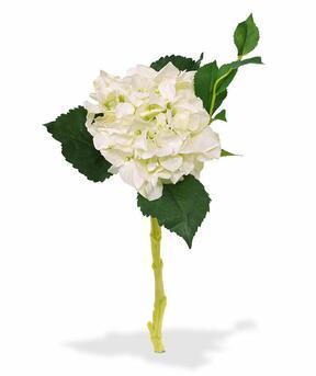 Konstgjord gren Hortensia vit 38 cm