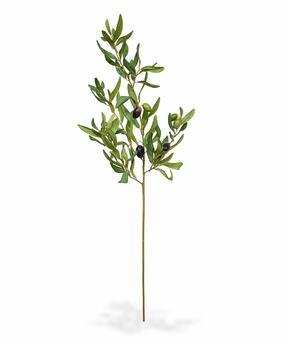 Konstgjord gren Olivträd med oliver 85 cm