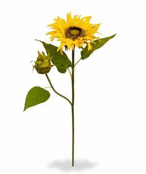 Konstgjord gren Solros 55 cm