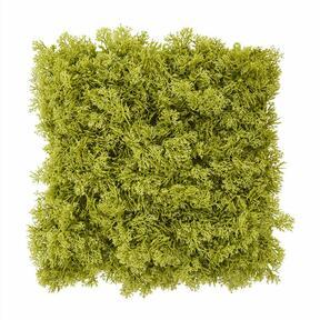 Konstgjord grön mosspanel - 25x25 cm