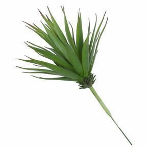 Konstgjord växt Agave grön 20 cm