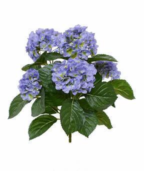 Konstgjord växt Hortensia blå 40 cm