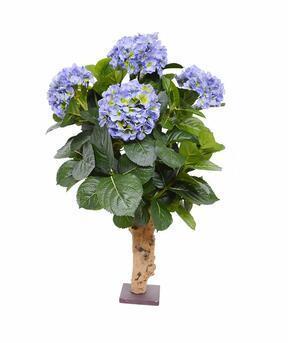 Konstgjord växt Hortensia blå 65 cm