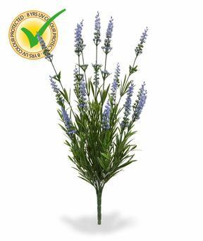 Konstgjord växt Lavendelblå 50 cm