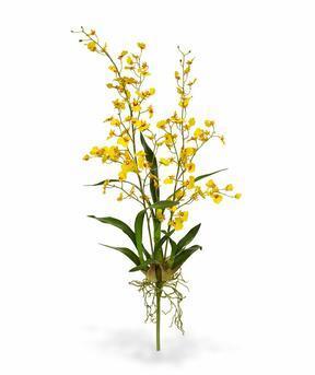 Konstgjord växt Orchidea Oncídium 80 cm