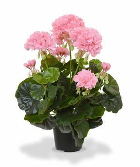 Konstgjord växt Pakost rosa 40 cm