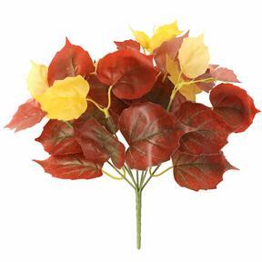 Konstgjord växt Pavinič röd 25 cm