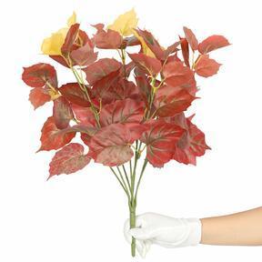 Konstgjord växt Pavinič röd 45 cm