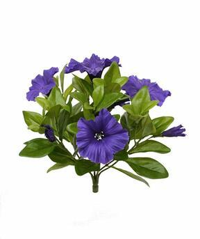Konstgjord växt Petunia lila 25 cm