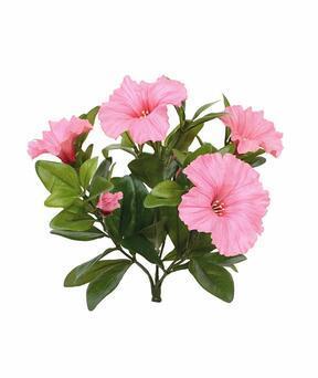 Konstgjord växt Petunia rosa 25 cm