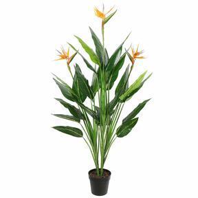 Konstgjord växt Skytte som blommar 150 cm