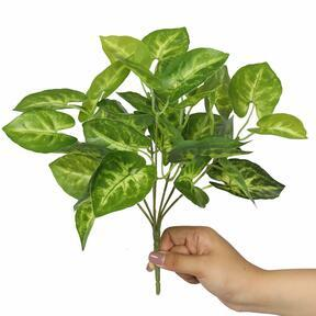 Konstgjord växt Taro Araceae 25 cm