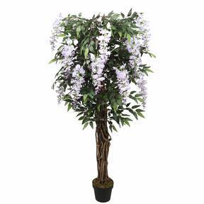Konstträd Wisteria lila 150 cm