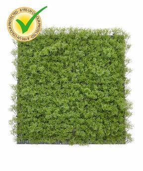 Mossmat konstgjord mosspanel - 50x50 cm